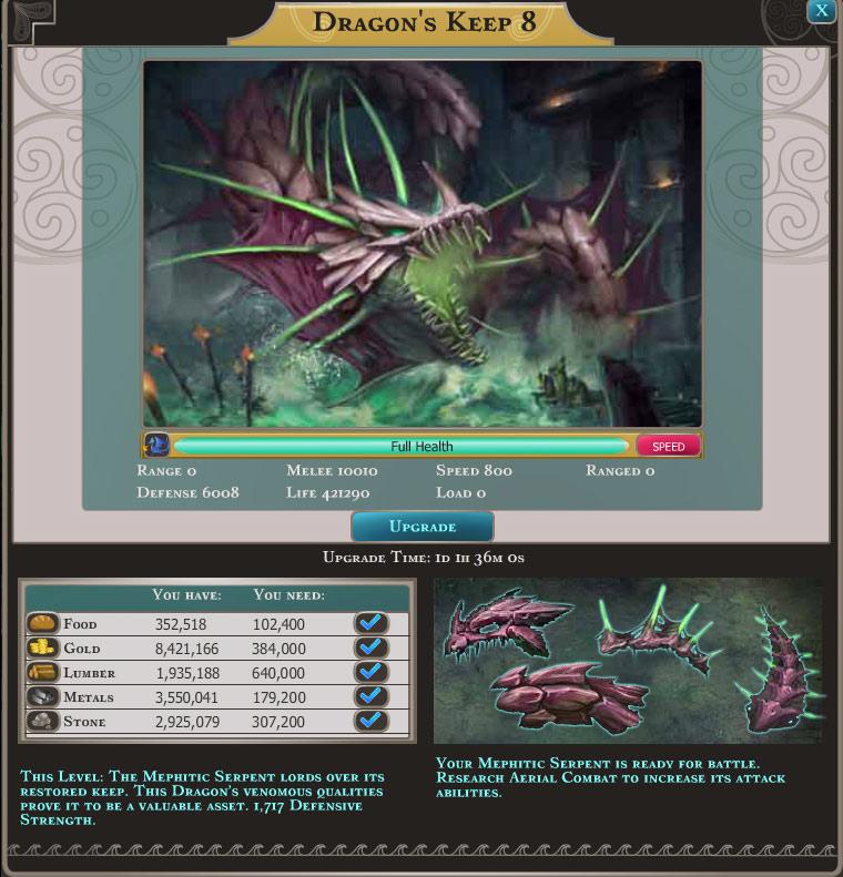 Dragons of Atlantis screen shot