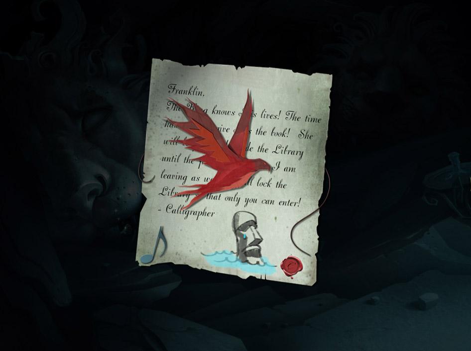 Drawn - Dark Flight screen shot