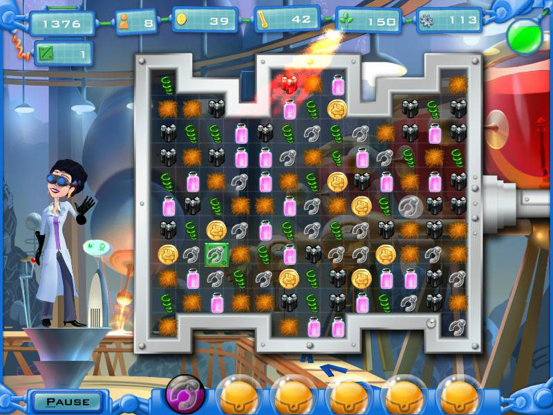 Dr. Despicable's Dastardly Deeds screen shot