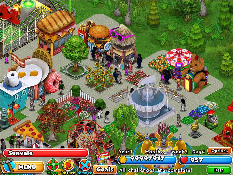 Dream Builder: Amusement Park screen shot