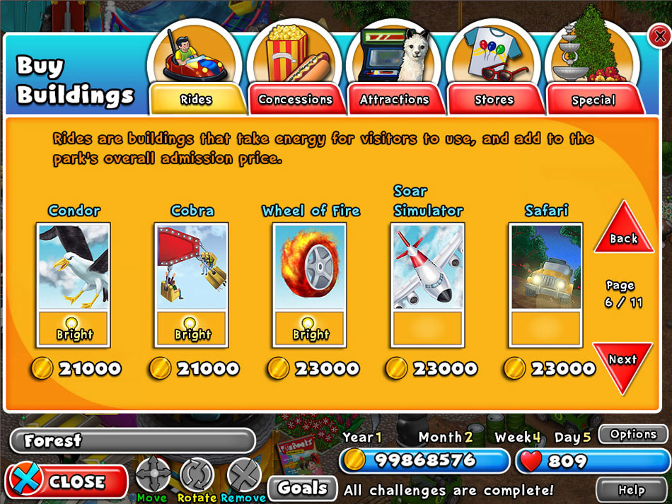 Dream Builder: Amusement Park screen shot