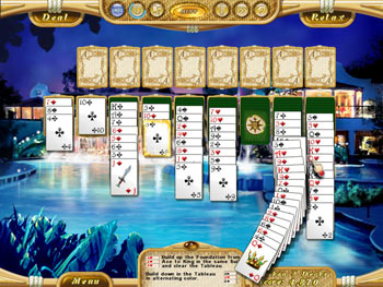 Dream Vacation Solitaire screen shot