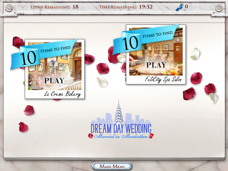 Dream Day Wedding 2 - Married in Manhattan screen shot