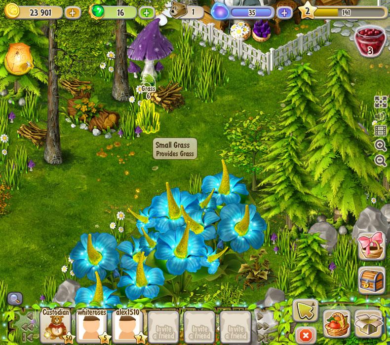 Dreamfields screen shot
