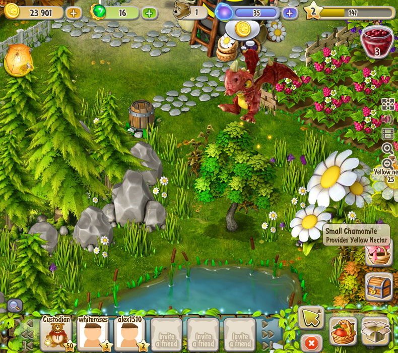 Dreamfields screen shot
