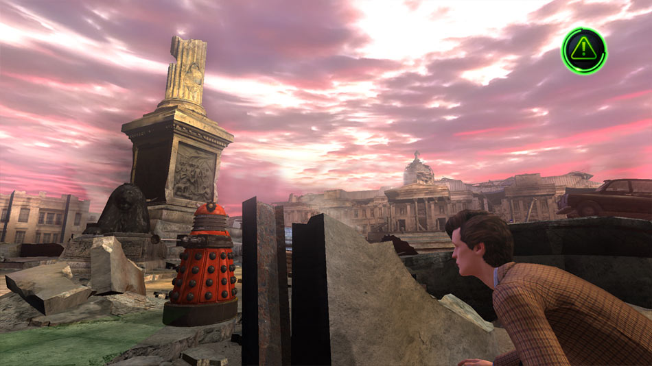 Dr. Who Episode 1: City of the Daleks screen shot