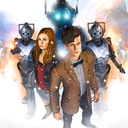 Dr. Who Episode 2: Blood of the Cybermen - Dr. Who, Episode 2 is an adventure game in the style of the modern television series. Help the Doctor and Amy defeat an army of Cybermen. - logo