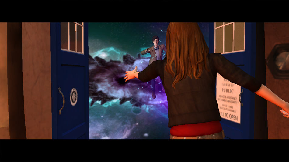 Dr. Who Episode 3: Tardis screen shot