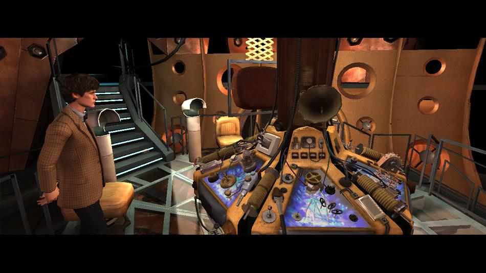 Dr. Who Episode 3: Tardis screen shot
