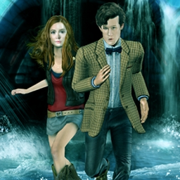 Dr. Who Episode 4: Shadows of the Vashta - Dr. Who Episode 4: Shadows of the Vashta is the fourth adventure game based on the recent  BBC TV series! - logo