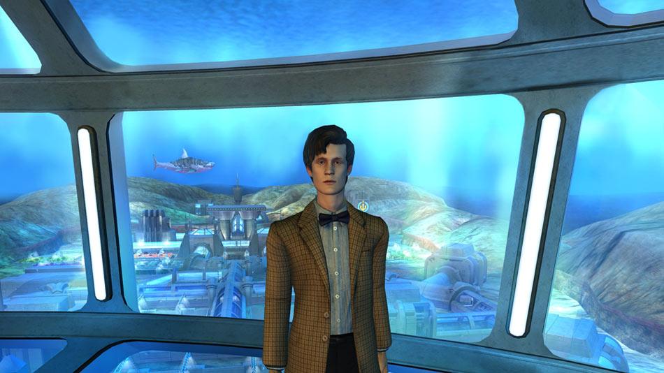 Dr. Who Episode 4: Shadows of the Vashta screen shot