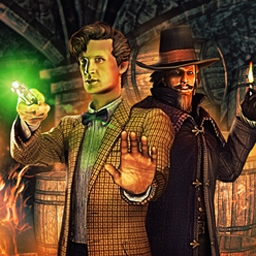 Dr. Who Episode 5: The Gunpowder Plot - Stop the Gunpowder plot and save London in this fifth Dr. Who game! Old monsters return and new threats are faced in this exciting adventure. - logo