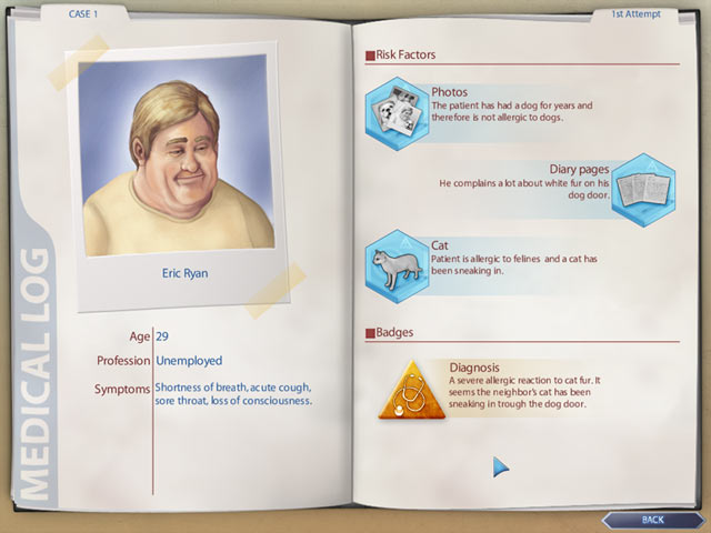 Dr. Wise - Medical Mysteries screen shot