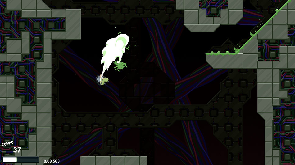 Dustforce screen shot