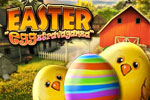 It's an Easter Eggztravaganza! This hidden object game is brimming with Easter eggs, bunnies, candy and toys.