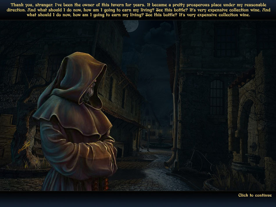 Echoes of the Past: The Castle of Shadows screen shot