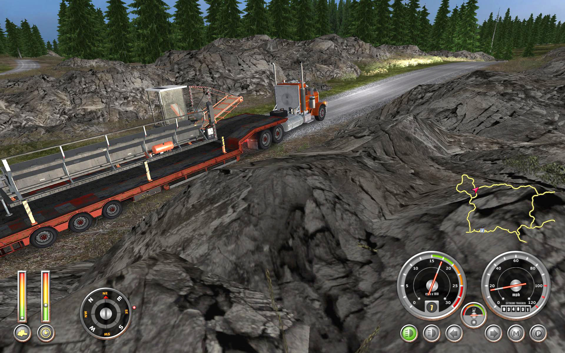 18 Wheels of Steel: Extreme Trucker 2 screen shot
