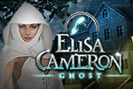 """I'm dead?!' But you have no memory of how it happened. And death may be the least of your worries in the hidden object game Elisa Cameron: Ghost!"