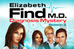 Unravel medical mysteries in Elizabeth Find MD, Diagnosis Mystery: Season 2, a dramatic hidden object adventure!