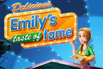 Emily gets ready for prime time in the mobile version of Delicious: Emily's Taste of Fame!