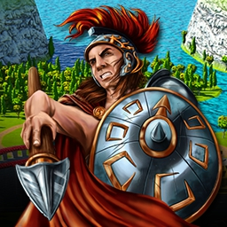 Empire: Tales of Rome - You're in the middle of a bet between the gods... build a city they'll be proud of with your match-3 skills in Empire: Tales of Rome! - logo