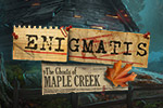 Find a kidnapped girl and save yourself in Enigmatis: The Ghosts of Maple Creek, a fun hidden object, adventure game!