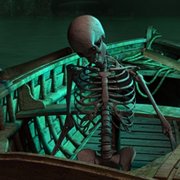 Epic Adventures: Cursed Onboard - Unravel the mystery of the cursed ship and save Anna's soul in Epic Adventures: Cursed Onboard, a fun hidden object game! - logo