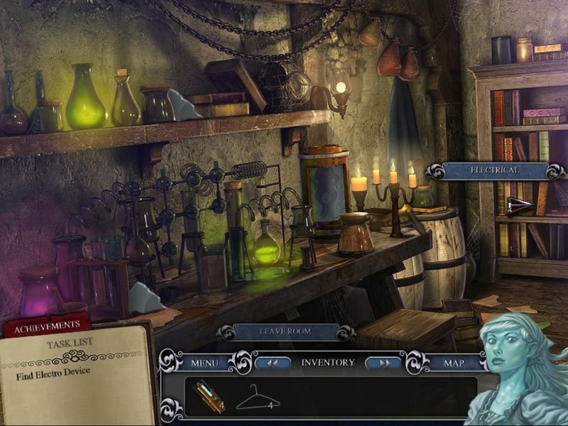 Escape from Frankenstein's Castle screen shot