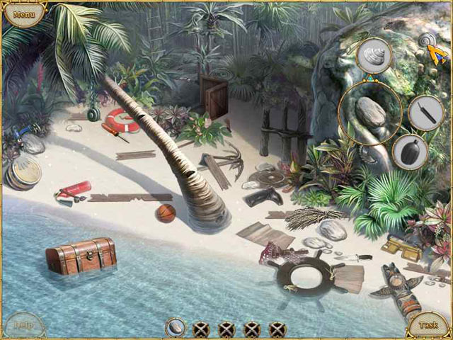 Escape from Lost Island screen shot