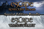 Play Escape Rosecliff Island and Escape Whisper Valley in one great game!