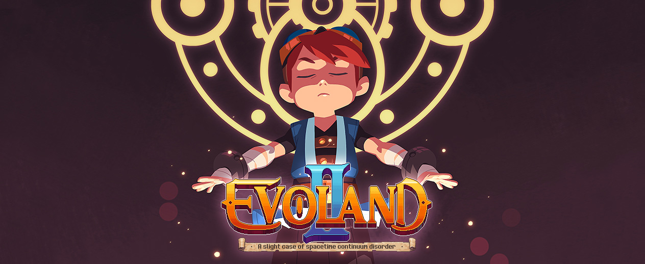 Evoland 2 - Everything seems peaceful...