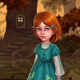 Evy: The Magic Spheres - Evy finds herself in a fairytale kingdom that's threatened by an evil witch.  Save the land by puzzling through 60+ levels in Evy: The Magic Spheres. - logo
