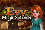Evy finds herself in a fairytale kingdom that's threatened by an evil witch.  Save the land by puzzling through 60+ levels in Evy: The Magic Spheres.