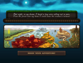 Faerie Solitaire screen shot