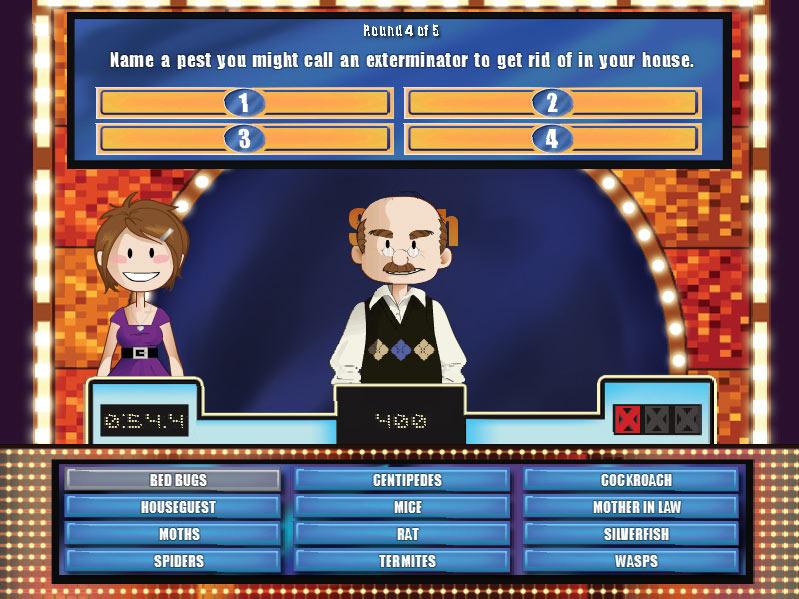Cash Tournaments - Family Feud screen shot
