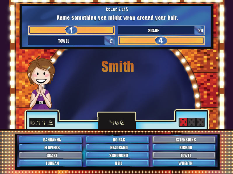 Cash Tournaments - Family Feud screen shot