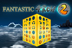 Connect 4 in a row vertically, horizontally or diagonally across multi-sided game boards in this new version of the game. Play Fantastic 4 In A Row 2!