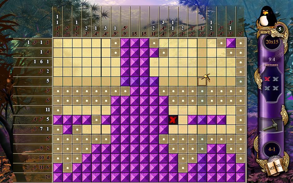 Fantasy Mosaics screen shot