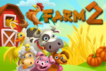 Plant new crops, upgrade pens, and welcome new animals into your menagerie in Farm 2, a fun time-management game!
