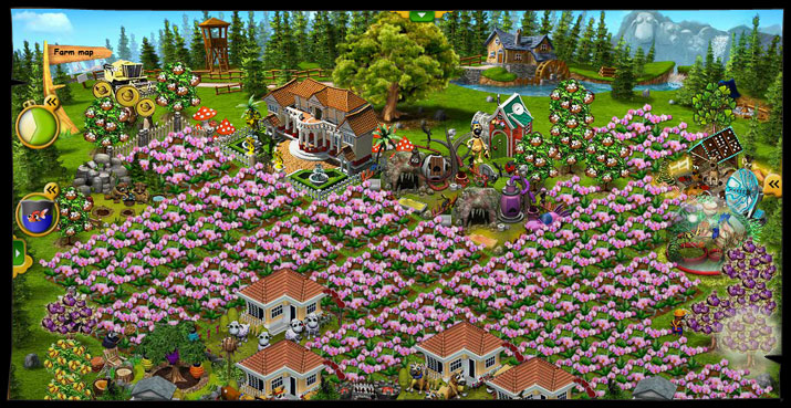 Farmerama screen shot