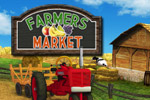 Sell fresh vegetables, baked goods, BBQ, and much more in Farmer's Market!