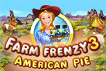 Put robots to work on Scarlett's land in Farm Frenzy 3 - American Pie!