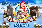 Chill out with Farm Frenzy 3 - Ice Age, featuring 90 levels of frosty fun!