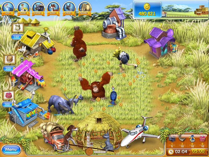 Farm Frenzy 3 - Madagascar screen shot