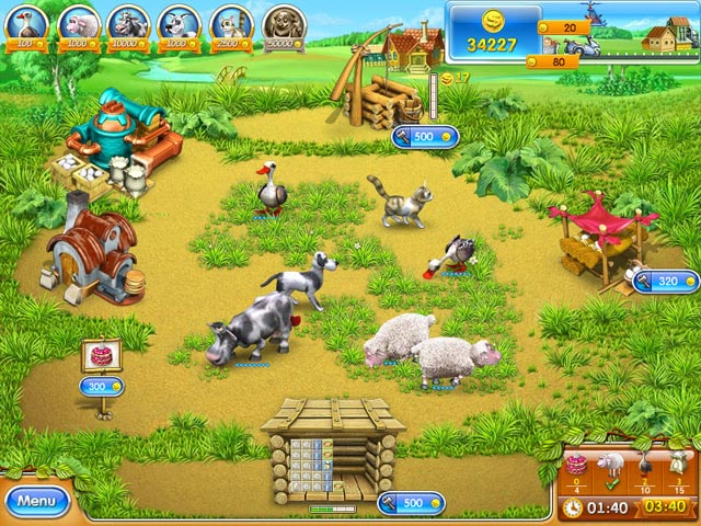 Farm Frenzy 3 - Russian Roulette screen shot