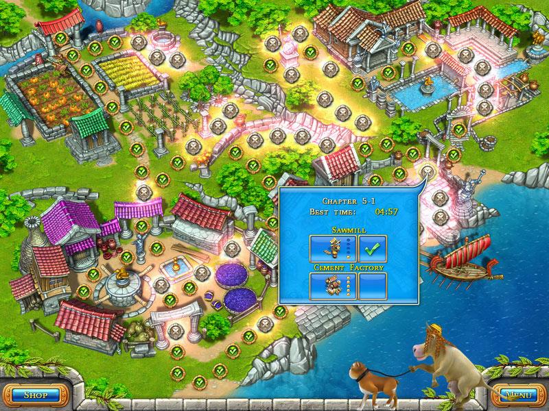 Farm Frenzy: Ancient Rome screen shot