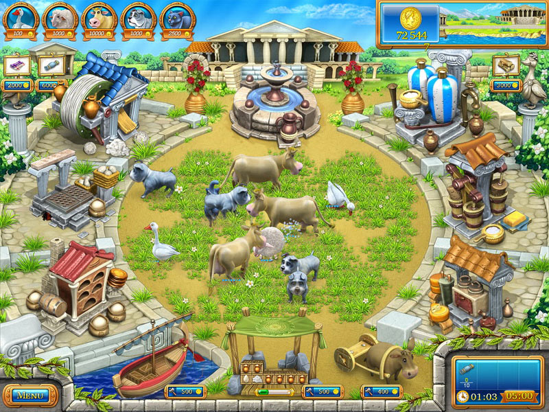 Farm Frenzy: Ancient Rome screen shot