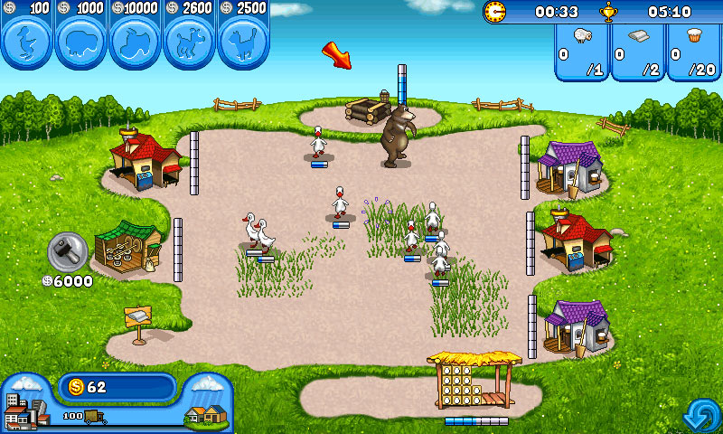 Скачать Веселая ферма 3Ледниковая Эра для Android. Аркады.