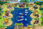 Screenshot of Farm Frenzy: Gone Fishing