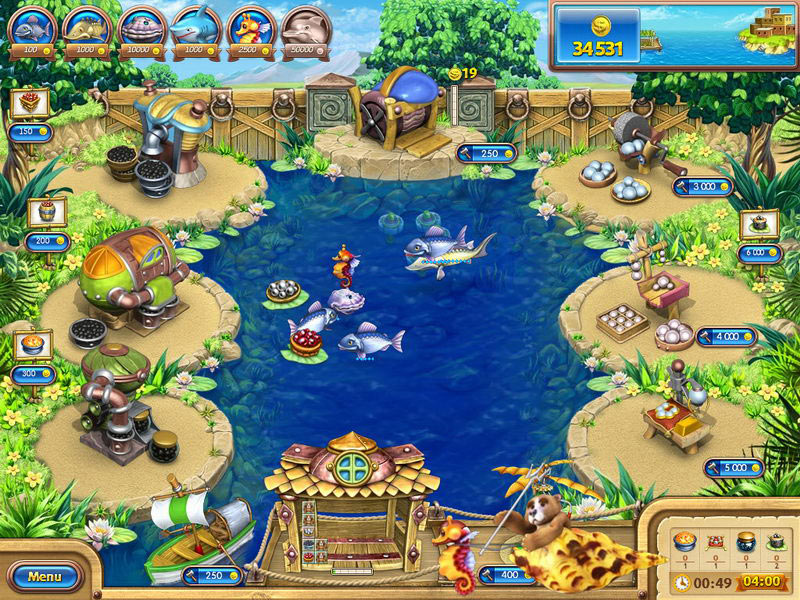 Farm Frenzy: Gone Fishing screen shot